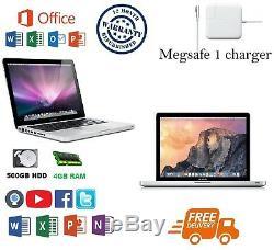 Apple Macbook Pro 13 Core I5 8 Go Ram 500gb Hdd Grade Avec Bureau