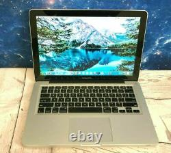Apple Macbook Pro 13 Laptop Core I5 500 Go Hd Osx-2017 2 Garantie Yr