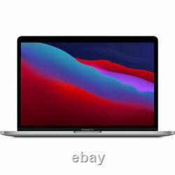 Apple Macbook Pro 13 M1 Chip Touch Bar 2020 256 Go Ssd Espace Gris Myd82ll/a