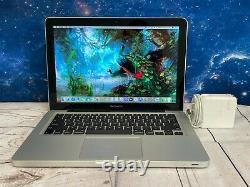 Apple Macbook Pro 13 Ordinateur Portable 16 Go Ram 512 Go Ssd Max Améliore La Garantie