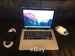 Apple Macbook Pro 13 Ordinateur Portable / 2,4 Ghz / 4 Go De Ram / 250 Go Hhd Mac Os Haute Sierra 2017