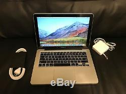 Apple Macbook Pro 13 Ordinateur Portable / 2,4 Ghz / 8 Go De Ram / New 1tb Hhd Mac Os High Sierra 2017