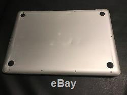 Apple Macbook Pro 13 Ordinateur Portable / 2.66ghz / 8 Go De Ram / 320go Hhd Mac Os High Sierra 2017