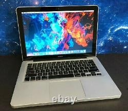 Apple Macbook Pro 13 Ordinateur Portable / 2ghz 8 Go De Ram + 120 Go Ssd / Garantie De 1 An