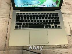 Apple Macbook Pro 13 Ordinateur Portable 8 Go De Ram + 128 Go Ssd Os-2017 + Garantie 2 Ans