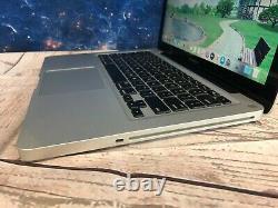 Apple Macbook Pro 13 Ordinateur Portable 8 Go De Ram + 500 Go Mac Os 2 Yr Garantie