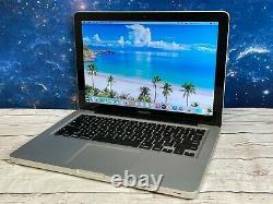 Apple Macbook Pro 13 Ordinateur Portable 8 Go Ram 1 Tb Garantie Macos