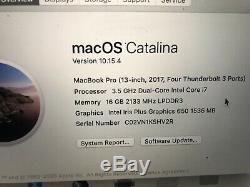 Apple Macbook Pro 13 Ordinateur Portable Avec ID Et Barre Tactile Touch, 512 Go, 16 Go, 3,5 Ghz Core I7