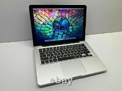 Apple Macbook Pro 13 Ordinateur Portable Remis À Neuf 500 Go Macos 3 Ans Garantie