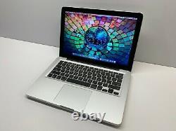 Apple Macbook Pro 13 Ordinateur Portable Utilisé 500 Go Macos 2017 Garantie