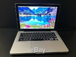 Apple Macbook Pro 13 Pré-retina I7 Garantie 1 Ram De 2 Go À 2,9 Ghz Améliorée