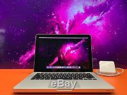 Apple Macbook Pro 13 Pre-retina Intel Ssd 8 Go Ram 256 Go Macos 2016