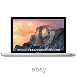 Apple Macbook Pro 13 Remis À Neuf Laptop Core I5, I7 8go Ram 1to Hdd High Sierra