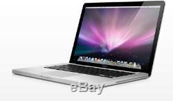 Apple Macbook Pro 13 (c2d) 8 Go De Ram Disque Dur De 250 Go Bon État Avec Bureau