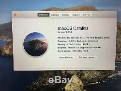 Apple Macbook Pro 13po, I5 2,3 Ghz, 8 Go Ram, 256 Ssd, Année 2017 (p89)