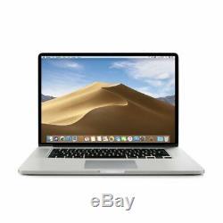 Apple Macbook Pro 15 (2013) Retina Display De Base (core I7) Ram 16 Go, 256 Ssd