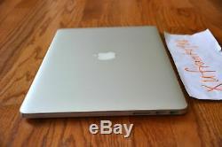 Apple Macbook Pro 15 2015 Retina 4870hq Turbo Core I7 3.7ghz 16 Go 1tb M370x Gddr5