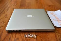 Apple Macbook Pro 15 2015 Retina 4980hq Turbo Core I7 4.0ghz 16 Go 1to M370x 100 Cyc