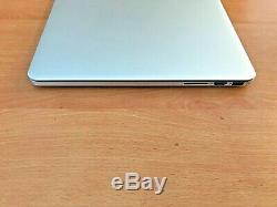 Apple Macbook Pro 15, 2.0 Ghz Core I7, 16 Go Ram, Ssd 256 Go, Année 2013 (p13)