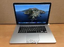 Apple Macbook Pro 15, 2.2 Ghz Core I7, 16 Go Ram, Ssd 256 Go, 2015 (p16)