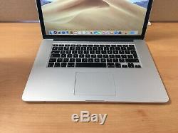 Apple Macbook Pro 15, 2.5ghz Core I7, 16 Go Ram, 500 Go Ssd, 2015 (p64)