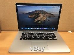 Apple Macbook Pro 15 2.5ghz Core I7, 16 Go Ram, 500 Go Ssd, Gt 750 Année 2014 (p28)