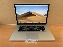 Apple Macbook Pro 15 '' 2.8 Ghz Core I7, 16 Go Ram, 500 Go Ssd, Année 2014 (p67)