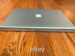 Apple Macbook Pro 15 A1226 2.4ghz 4 Go Ram 35 Cycle Great Condit Trackpad Read