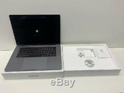 Apple Macbook Pro 15 Avec Touch Bar (2019) Ssd 256 Go, Core I7, 16 Go, L'espace Gris