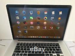 Apple Macbook Pro 15, Core I7 À 2,2 Ghz, Ram 16 Go, Ssd 500 Go, 2015 (p63)