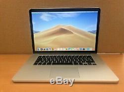 Apple Macbook Pro 15, Core I7 À 2,5 Ghz, 16 Go De Ram, Ssd De 500 Go, R9, 2015 (p50)