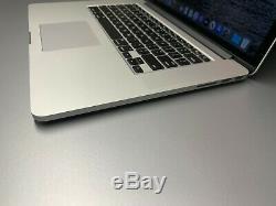 Apple Macbook Pro 15 Dans Retina Mac Portable Quad Core I7 Ssd Os-512gb 2019