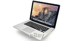 Apple Macbook Pro 15 Dg Retina 4870hq 2.5ghz Core I7 16gb Ram 512go Osx Mojave 2015