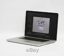 Apple Macbook Pro 15 Ghz I7 Quad Core À 2,3 Ghz Et 8 Go De Ram Disque Dur De 500 Go A1286 Mi-2012