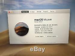 Apple Macbook Pro 15 I7 2,2 Ghz, 16 Go De Ram, 256 Ssd, 2015 (p90)