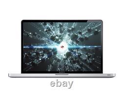 Apple Macbook Pro 15 Inch Core I5 2.4ghz 8 Go 256 Go Ssd / Osx 2017 / Garantie