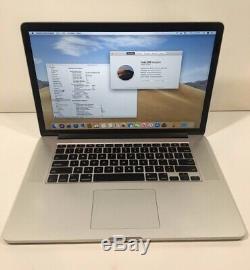Apple Macbook Pro 15 MID 2015 16 Go Ram 2.8ghz Core I7 Ssd 1to (intégré Uniquement Gfx)