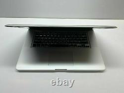 Apple Macbook Pro 15 Ordinateur Portable 2.2ghz Intel 500gb Utilisé Garantie De 3 Ans