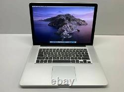 Apple Macbook Pro 15 Ordinateur Portable / 3.3ghz Core I7 / 8 Go Ram 1to / Garantie De 3 Ans