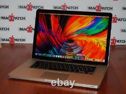 Apple Macbook Pro 15 Ordinateur Portable I7 / 16 Go Ram + 1 To Solid State Drive / Os 2018