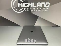 Apple Macbook Pro 15 Ordinateur Portable Touch Bar Space Gray 2017-2018 Retina 1tb Ssd