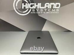 Apple Macbook Pro 15 Ordinateur Portable Touch Bar Space Gray 2017-2018 Retina 512gb Ssd