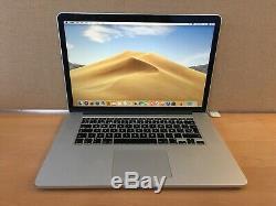 Apple Macbook Pro 15 Pouces, 2,2 Ghz Core I7, 16 Go Ram, 256 Go Ssd, 2015 (p78)