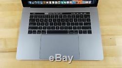 Apple Macbook Pro (15 Pouces MID 2017) 2,8 Ghz Intel Core I7 Ram Ssd 16 Go 256 Go