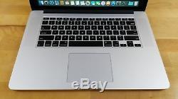 Apple Macbook Pro (15 Pouces, Milieu De 2015) Ssd Intel Core I7 De 5 Ghz À 2,5 Ghz Et 16 Go De Ram