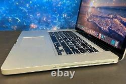Apple Macbook Pro 15 Pouces Ordinateur Portable I5 8 Go 250 Go Ssd Mac Os2017 2 Garantie Yr