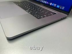 Apple Macbook Pro 15 Pouces Touch Bar Space Gray 512 Go Ssd 2016-2017 Garantie