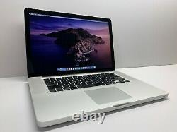 Apple Macbook Pro 15 Pre-retina Laptop Intel 1 To Garantie Macos 2015