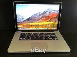 Apple Macbook Pro 15 Pre-retina Upgraded 16 Go Ram + Core I7 Ssd 512 Go Garantie