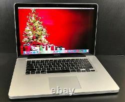 Apple Macbook Pro 15 Pré-retina Upgraded I5 8go Ram + 512 Go De Garantie Ssd